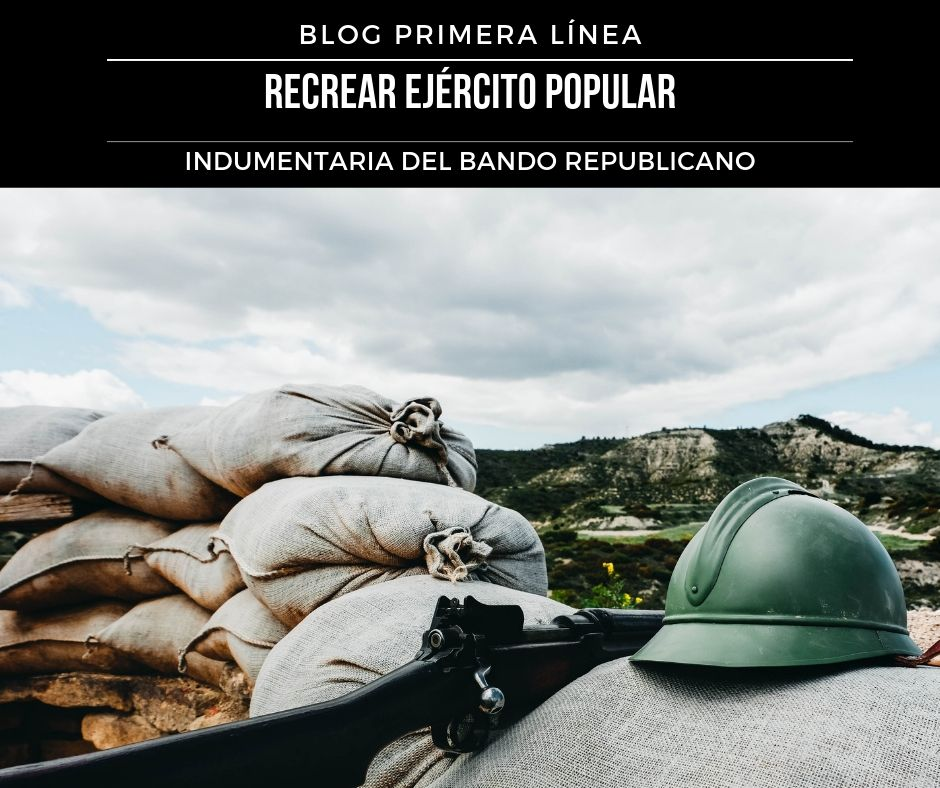 Recrear guerra civil española EPR Ejercito popular