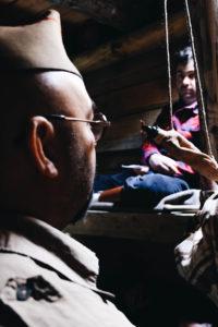 Soldados del POUM en un descanso
