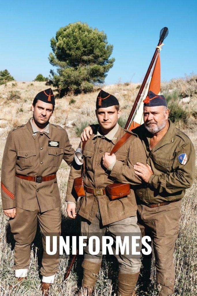 UNIFORMES Guerra civil española